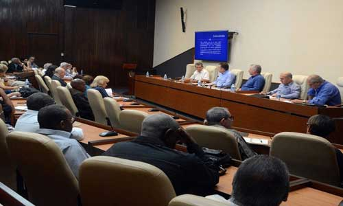 As a result of the meeting, a working group was proposed to improve the system of the sector