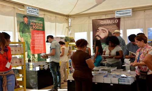 The 29th Havana International Book Fair will be held February 6-16