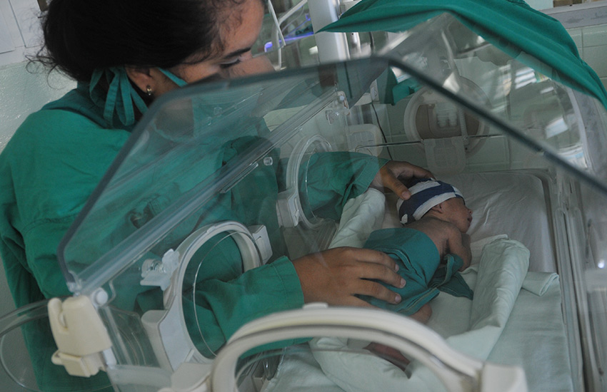 The overall survival at Las Tunas neonatology sevice was 97 percent